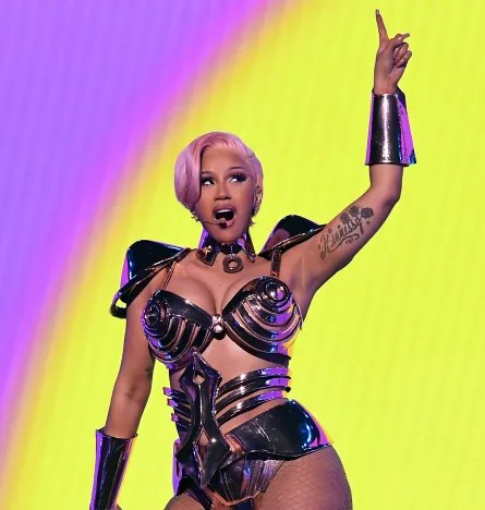 Cardi B Grammys Photo