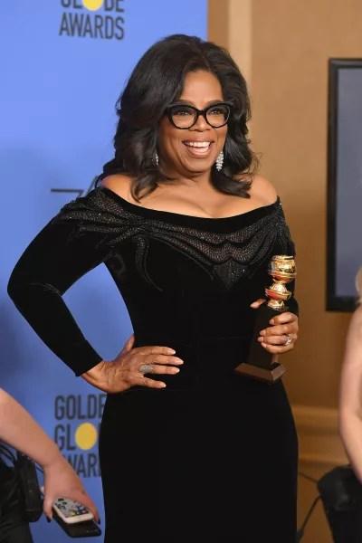 Oprah Backstage