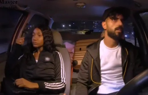 Brittany Banks and Yazan Abo Horira Have a Miserable Car Ride