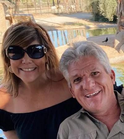 Caryn Chandler and Matt Roloff in Arizona