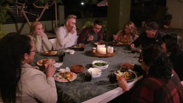 Dinner goes so well!