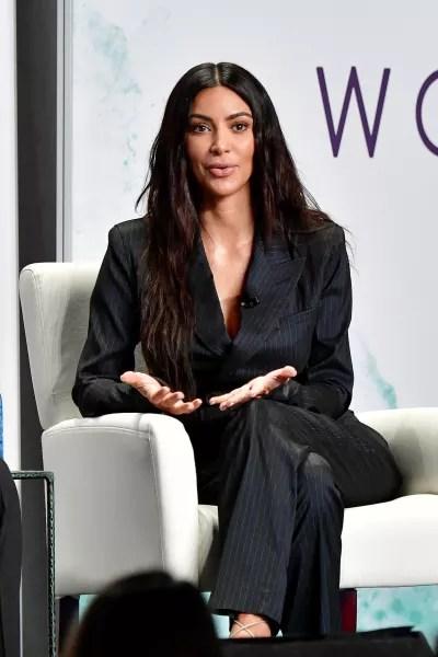 Kim Kardashian Talking