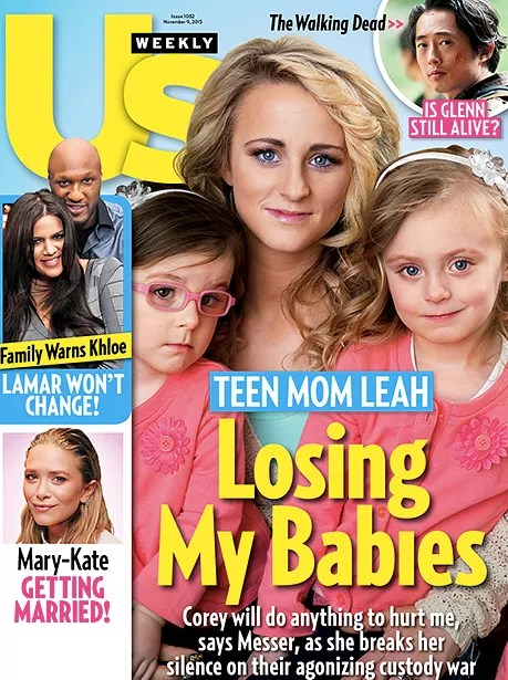 Leah messer us weekly cover