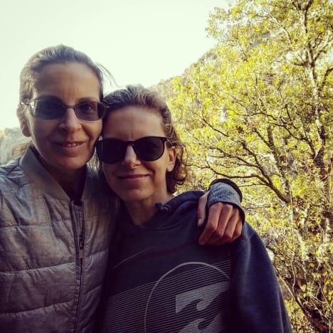 Clare Bronfman and Sara Bronfman
