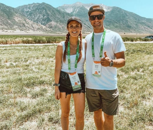 Audrey Roloff and Jeremy Roloff in Utah