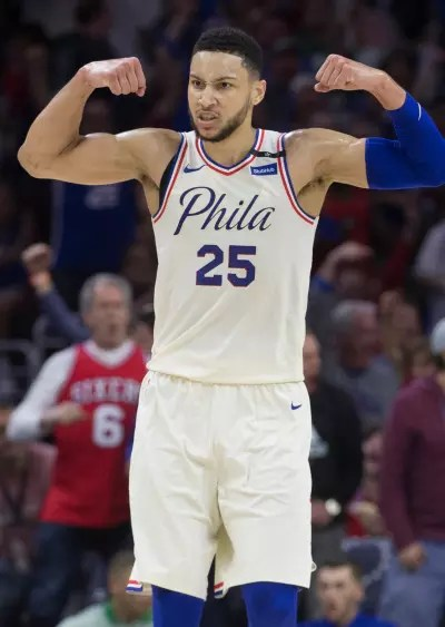 Ben Simmons Flexes