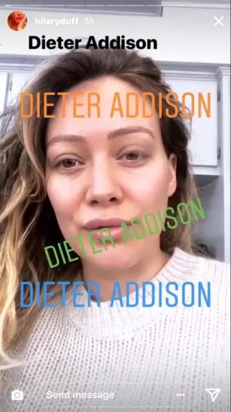 Hilary Duff ig story 01