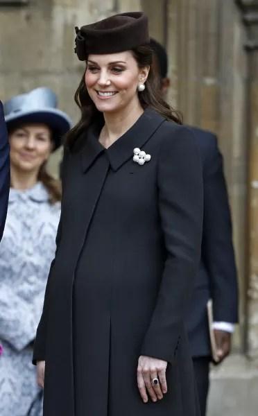 Kate Middleton, Very Pregnant