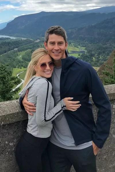 Arie Luyendyk Jr. and Lauren Burnham in Portland