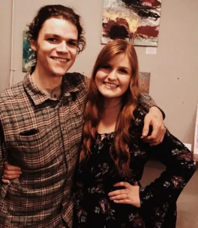 Jacob Roloff with His Wife