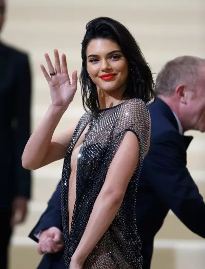 Kendall Jenner Waves