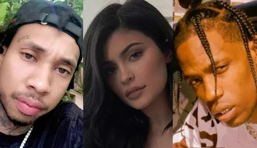 Tyga, Kylie Jenner, Travis Scott Split