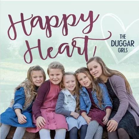 The Duggar Girls Album Cover