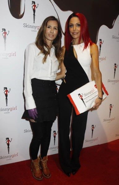 Carole Radziwill & Bethenny Frankel: Skinny Girl Candy Launch