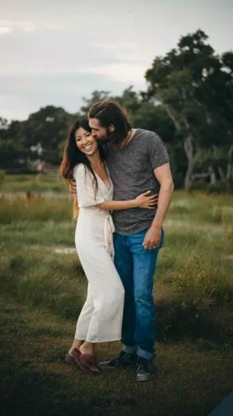 Rebecca Lo Robertson, Husband