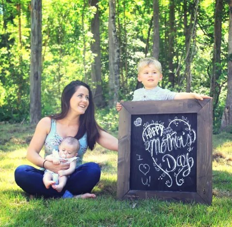 Jenelle Evans Mother's Day Image