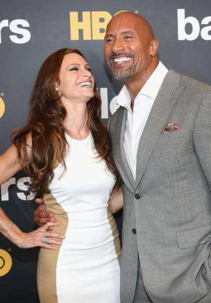 lauren hashian Lauren Hashian with Dwayne Johnson - The Hollywood Gossip