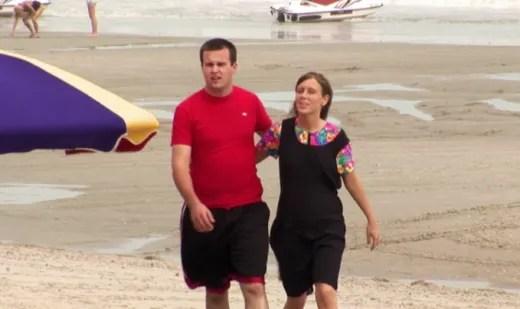 Josh and Anna at the Beach