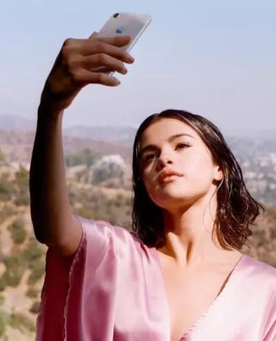Selena Gomez on the Instagram