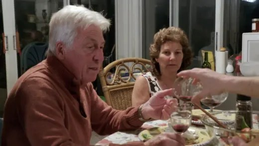Brandon Gibbs tries to bribe dad with wine