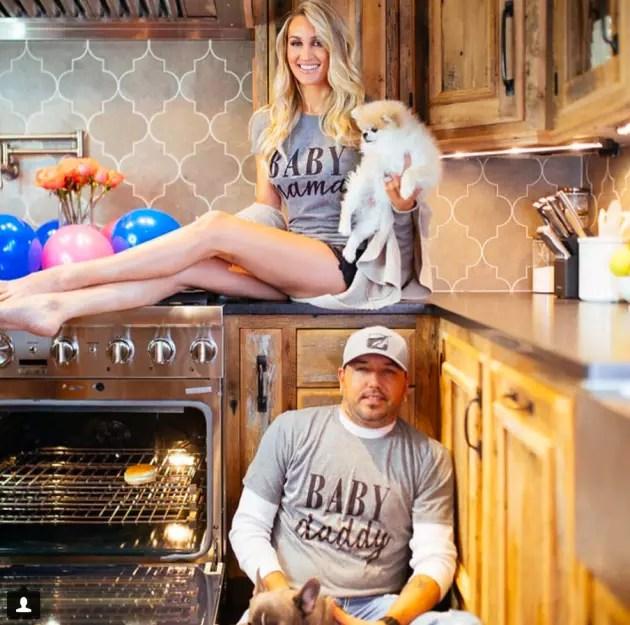 Jason Aldean and Britney Kerr Were Pregnant  The