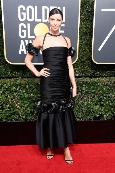Caitriona Balfe at the Globes
