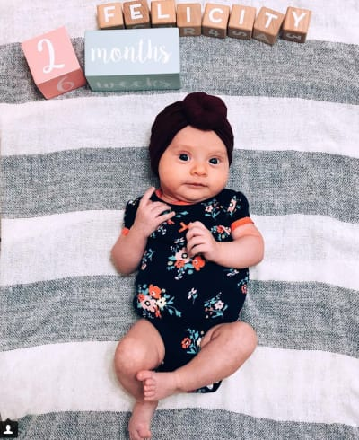 Felicity at 2 Months