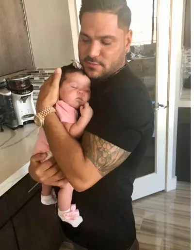Ronnie Ortiz-Magro with Ariana
