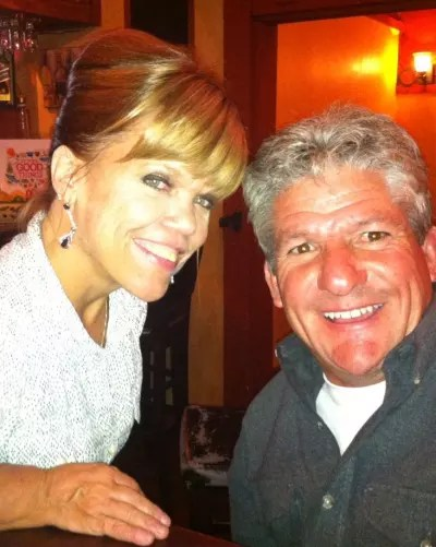 Amy Roloff and Matt Roloff Together