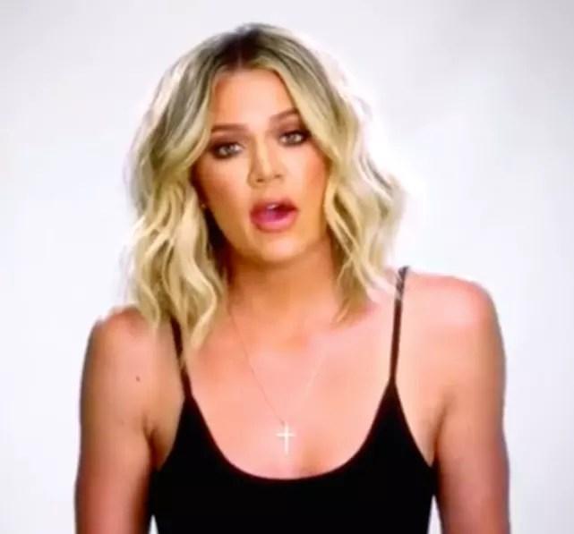 Khloe kardashian complains