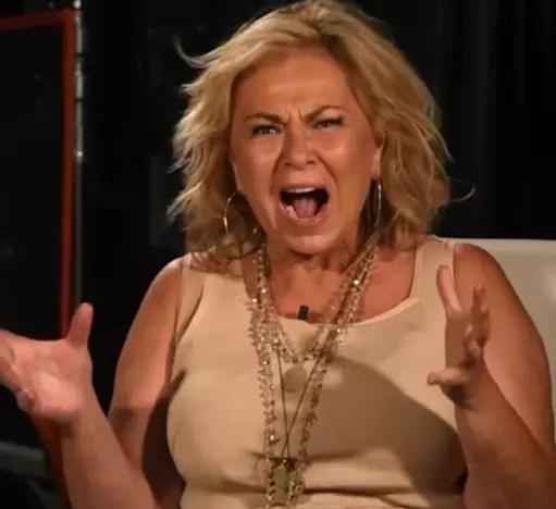Roseanne Flips Out