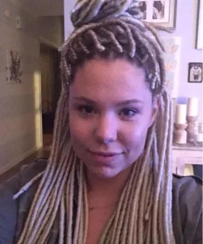 kailyn lowry s slammed for bieber inspired dreadlocks deletes instagram pic the hollywood