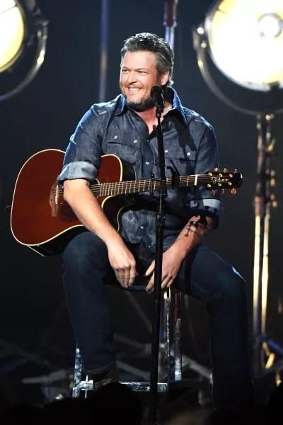 Blake Shelton Laughs