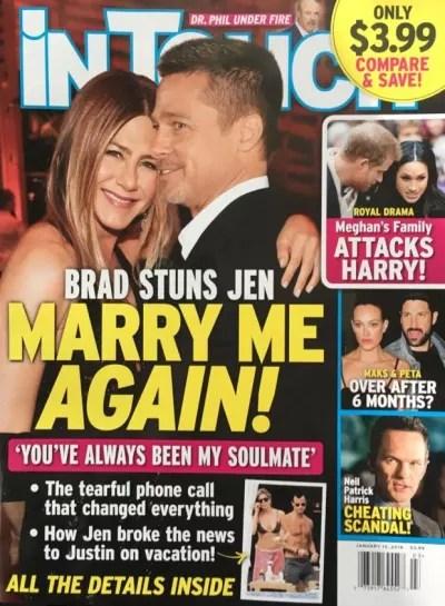 Brad Pitt & Jennifer Aniston: Married Again?!