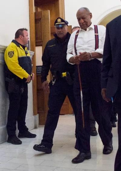 Bill Cosby Handcuffed