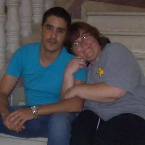 Mohamed Jbali and Danielle
