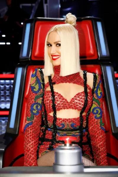 Gwen Stefani Smiles on The Voice Season 13
