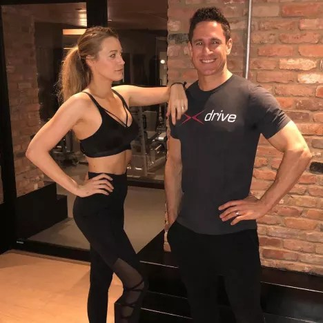 Blake Lively Is in Shape