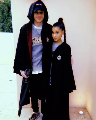 Ariana Grande and Pete Davidson, Harry Potter