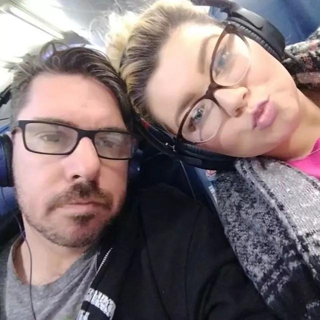 Amber portwood matt baier selfie