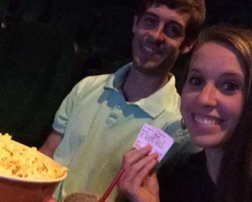 Jill and Derick at the Movies