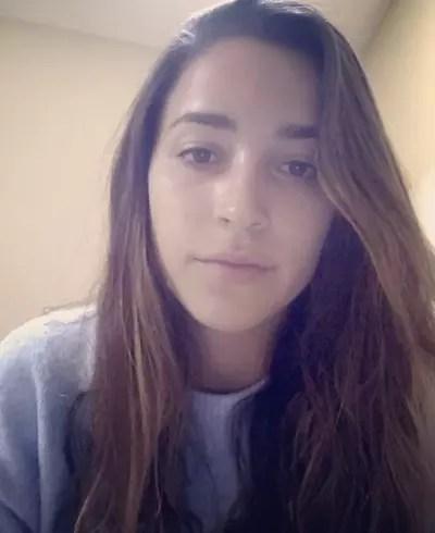 Aly Raisman Video Selfie