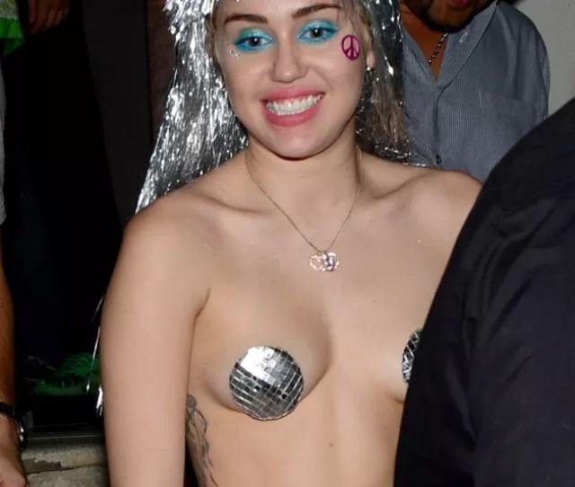 Miley Cyrus In Pasties