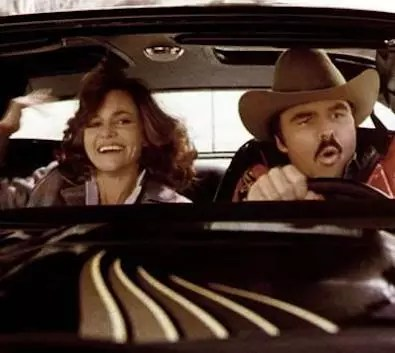 Sally Field and Burt Reynolds
