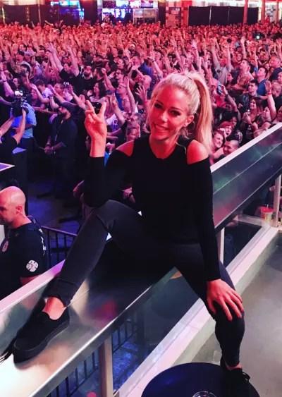 Kendra Wilkinson Having Fun