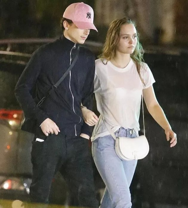 LilyRose Depp and Timothee Chalamet Dating  The Hollywood Gossip