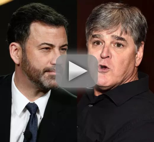 Sean hannity to jimmy kimmel i accept your forced apology come o