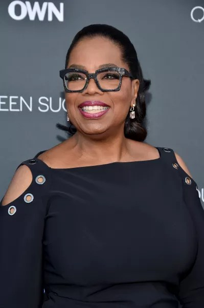 Oprah Winfrey with Big Glasses