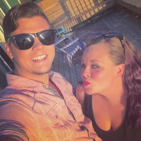Catelynn Lowell with Tyler Baltierra Photo
