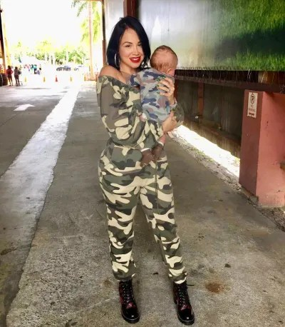 Paola Mayfield and Axel Wear Camouflage